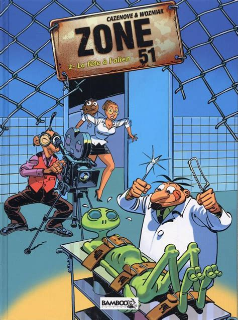 Serie Zone 51 [CANAL-BD]